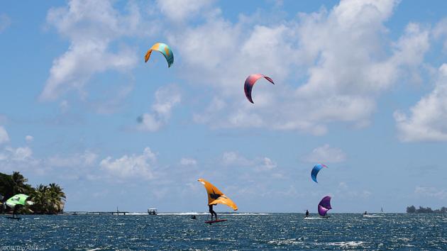 Découvrez la Polynésie pendant un séjour kitesurf inoubliable