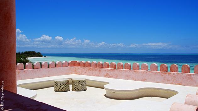 L'un des plus beaux hôtels de Zanzibar, sur la côte Est, à Jambiani : le paradis pour un séjour kite en couple