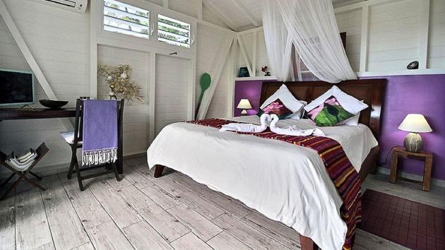 Votre hébergement en bungalow tout confort pour votre séjour kite en Guadeloupe