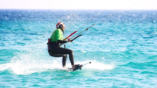 Stage kitesurf et activités bien être à tarifa