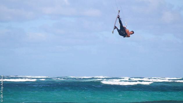 Vacances kitesurf à Boa Vista, au Cap Vert, avec location de matériel et appartement