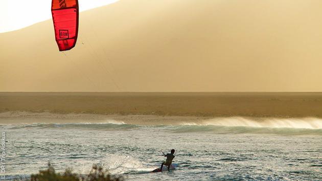 Séjour kite au Cap Vert, sur l'ile de Boa Vista, avec matos et logement
