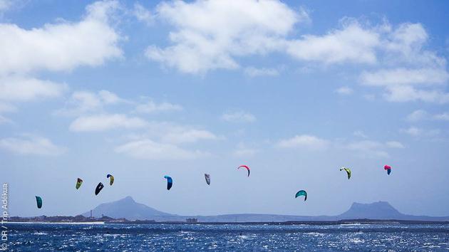 Des conditions de vents idéales au Cap Vert pour vos sessions kite
