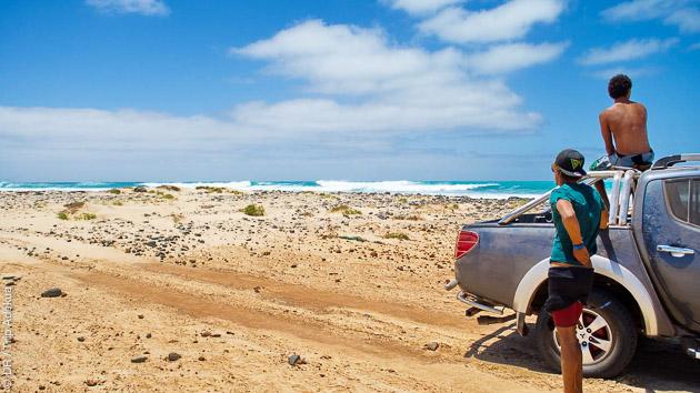 Dépaysement assuré entre les sessions kitesurf en partant en excursions à Boa Vista