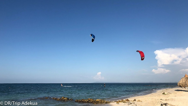 Venez naviguer et progresser en kitesurf en Colombie