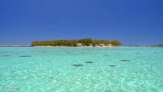 Un lagon paradisiaque pour vos vacances kite à Maurice