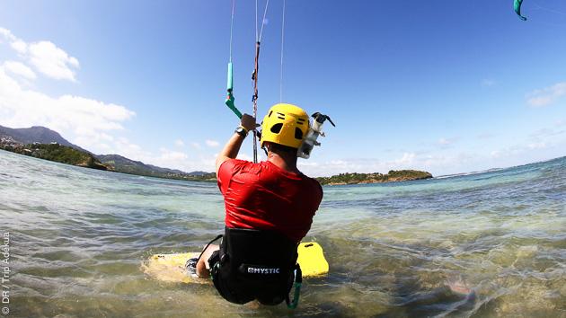 Votre spot de kitesurf privatisé en Maritnique