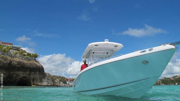 Découvrez les ilets de Martinique en bateau pendant votre kite trip