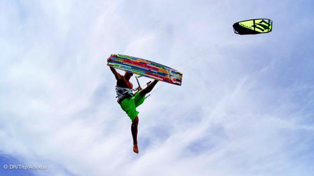 Tests de matériel kitesurf, freestyle, freeride sur le Delta de l'Ebre