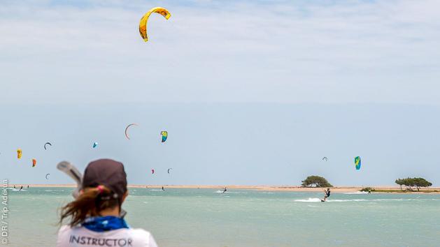 Naviguez en kitesurf sur le spot de Jericoacoara au Brésil