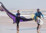 Votre séjour kite avec location de matériel à Essaouira - voyages adékua