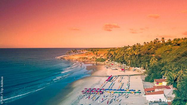 Séjour kitesurf entre amis au Brésil, sur le spot de Lagoinha