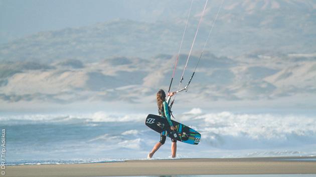 Alternez entre les sessions kite, les excursions SUP et le yoga pendant ce top séjour au Pérou