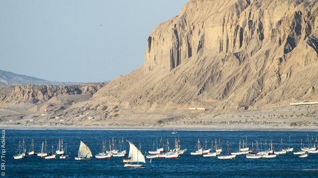 Superbe spot pour ce kitesurf trip vagues à Mancora au Pérou