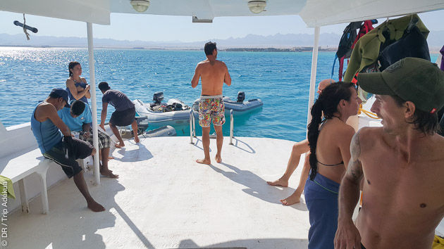le kite boat à Safaga - Soma Bay