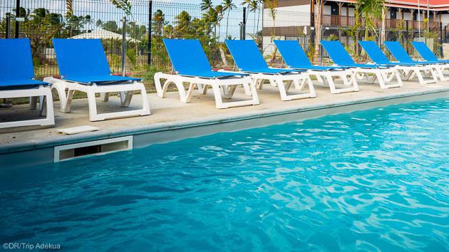 Votre résidence tout confort avec piscine aux Caraïbes
