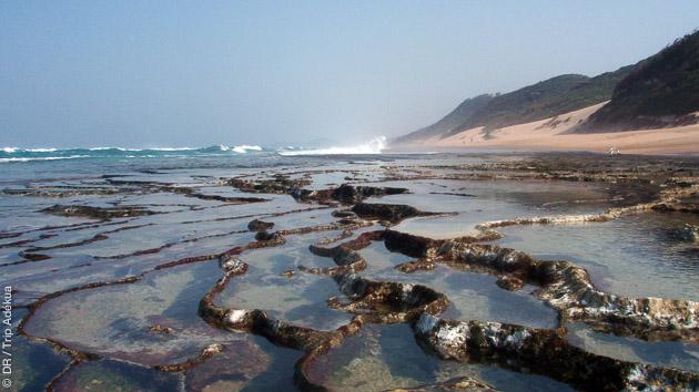 Découverte des spots du Mozambique en down wind, entre Ponta Malogane et Ponta do Ouro