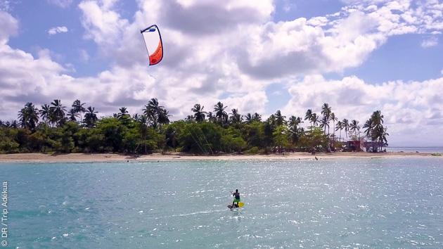 stage de kite dans las caraibes