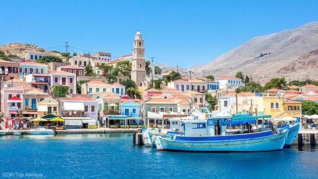 Découvrez la beauté de l'île de Rhodes pendant votre séjour kite