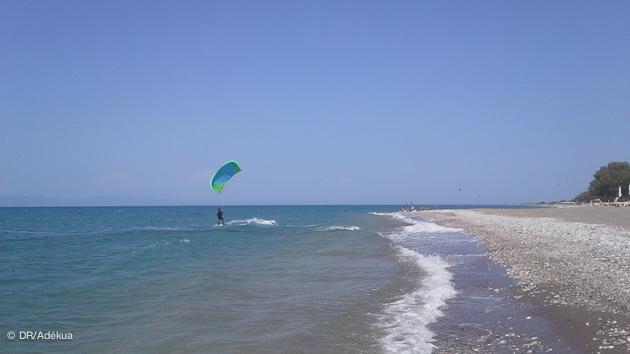 Un séjour kite de rêve sur l'île de Rhodes en Grèce