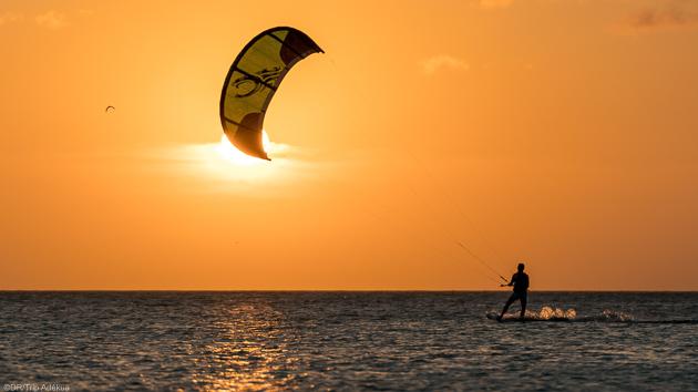 Cours de kitesurf, matériel et hébergement en hôtel tout confort