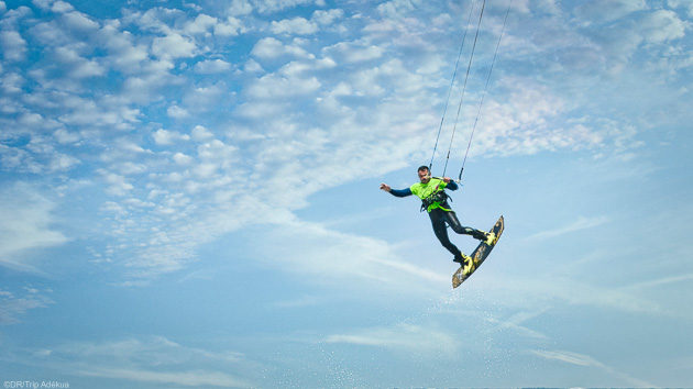Des vacances kitesurf inoubliables à Tahiti en Polynésie française
