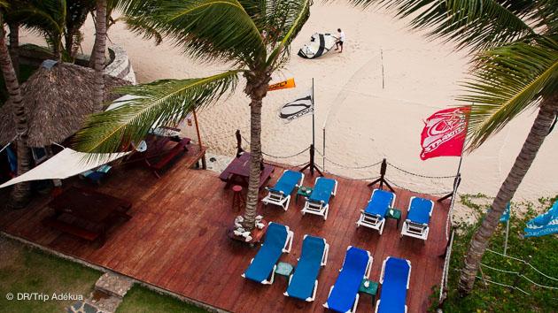 vue depui svotre chambre d'hotel à Kite Beach