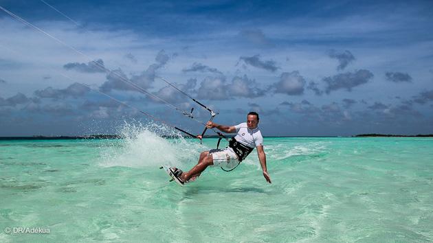Los Roques, El Coche pour le kitesurf c'est tranquille
