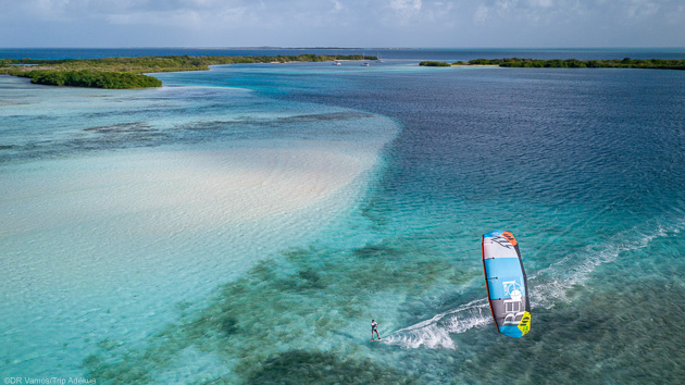 Naviguez en kitesurf sur les meilleurs spots de Los Roques
