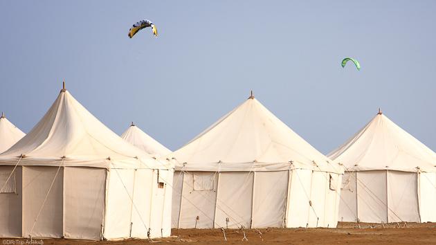 Votre hébergement tout confort  sur le spot de kite de Wadi Lahami
