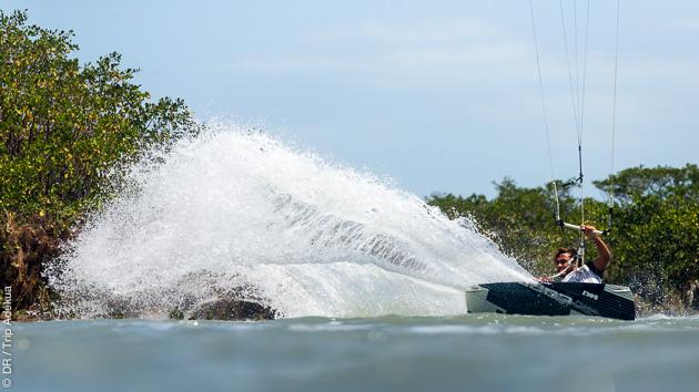 Coaching kitesurf au Brésil, avec un rider pro