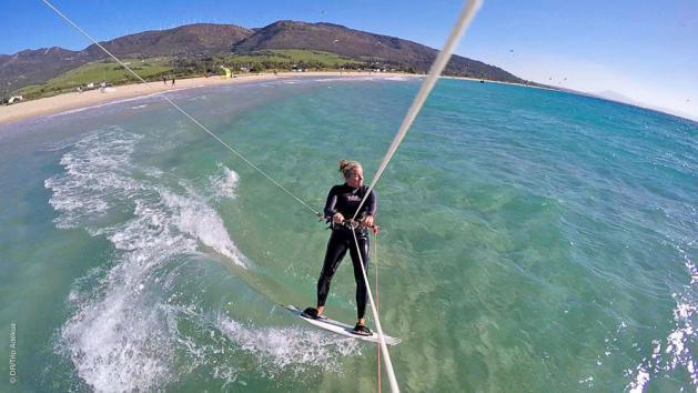 progrès assurés pendant votre stage de kite à Tarifa