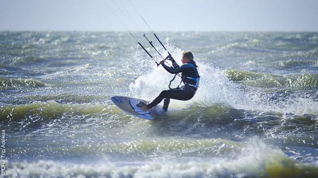 Beauduc est un spot réputé de Camargue, pour des sessions kitesurf dans un cadre idéal