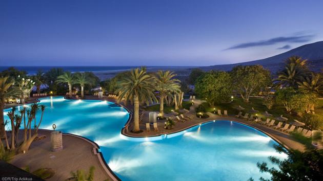 Hôtel 4 étoiles avec piscine et formule en demi-pension pour votre sjéour kite