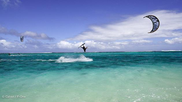 le morne est le spot parfait pour vos vacances kitesurf à Maurice