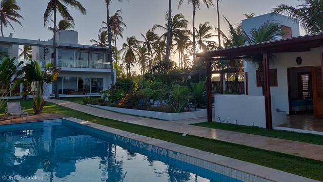 Votre pousada avec piscine à Guajiru au Brésil