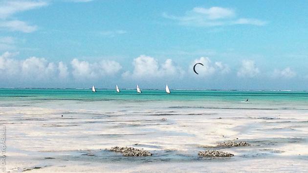 Un stage pour kiteurs autonomes qui souhaitent progresser en strapless, freestyle... Direction Zanzibar !