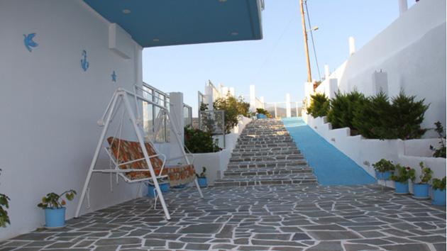 votre hébergement tout confort pour un stage de kite de rêve en Grèce