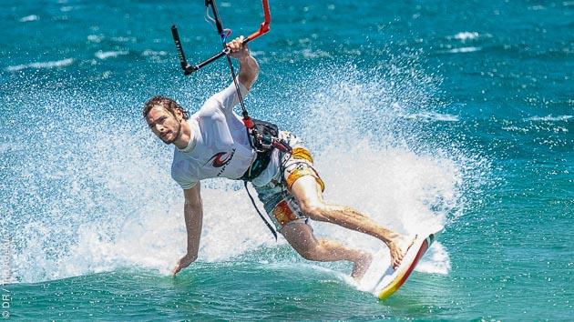 Stage de kitesurf à Evia, en Grèce