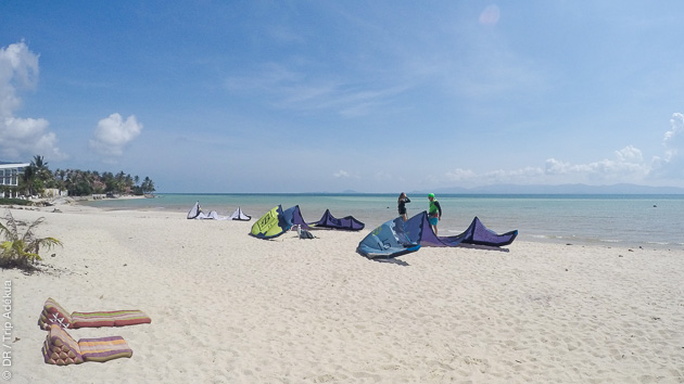 Un hôtel de luxe sur le spot pour un séjour kitesurf paradisiaque à Koh Phangan