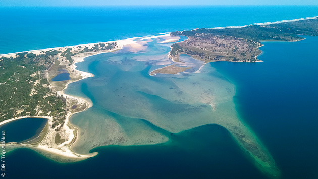 Venez rider sur notre lagune paradisiaque au Mozambique