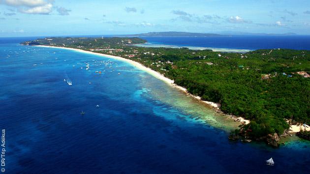 Un cadre de rêve pour ce séjour kite et détente à Boracay, aux Philippines