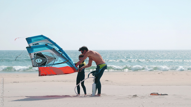 Vacances kitesurf en famille, à Viana do Castello