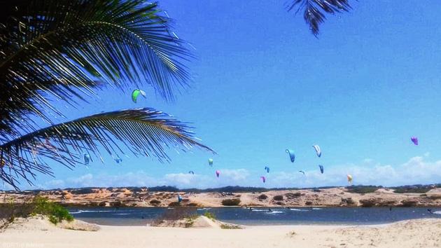 Un séjour kite sur mesure au Brésil, entre Lagoinha et Icaraizinho