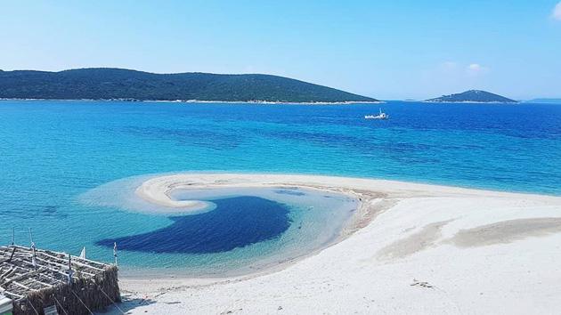 Profitez des meilleurs spots de kitesurf de l'île d'Evia en Grèce
