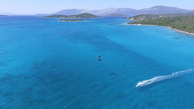 Votre séjour kite et yoga sur l'île d'Evia en Grèce
