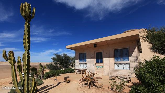 votre bungalow avec vue sur la spot de surf à Dakhla