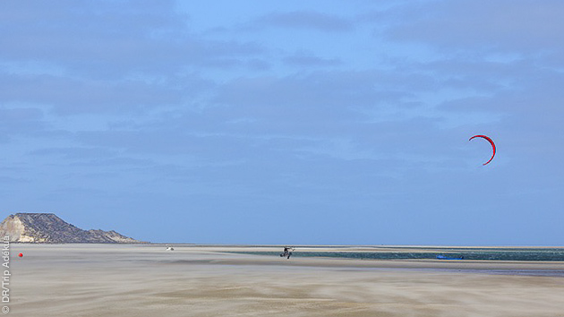 Kitesurf, wake, SUP, stretching et yoga pour ce séjour à Dakhla
