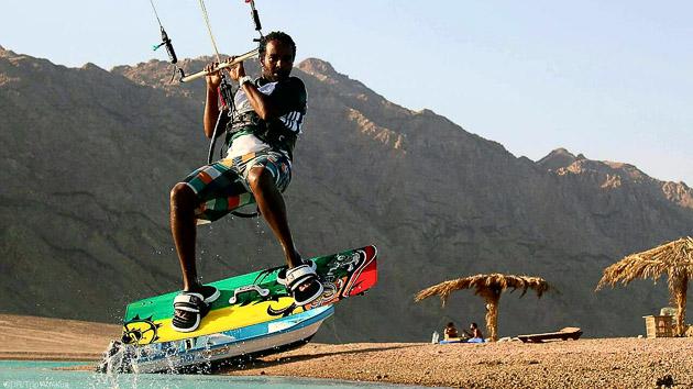 Les meilleurs sessions de kite sur le lagon de Dahab en Egypte