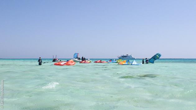 Safaga en Egypte est une super destination kite de l'été